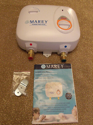 NEW, Marey PP110 Tankless Water Heater (Open Box), 110V, 1.0 GPM, 50-60Hz