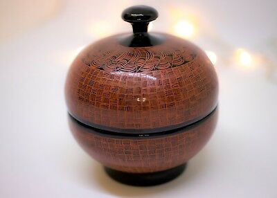 Burmese Lacquerware Vintage Style Container