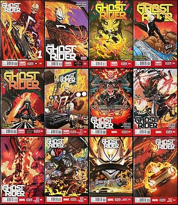 All-New Ghost Rider #1-12 Complete (2014). 1st Robbie Reyes.