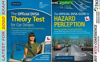2019 DVSA CAR Driving Theory Test Book - and Latest Hazard