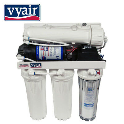 VYAIR 200GPD Pumped 4-Stage Reverse Osmosis Kitchen Drinking Water Filter System