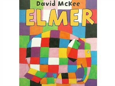 Elmer The Elephant Baby Book Baby Shower Gift