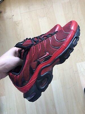 a8298b3ee7a ... germany nike air max plus tn tuned diablo love hate uk 10 used worn  condition 6048b