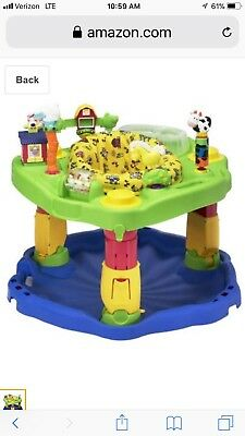 Evenflo ExerSaucer Delux Active Learning Center, Farm Friends