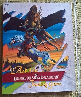 The Art of the Dungeons and Dragons Game TSR 1985