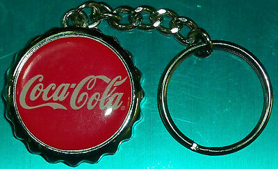 COKE COCA COLA vintage solid cast Keychain /Bottle Opener FREE 1stClass Shipping
