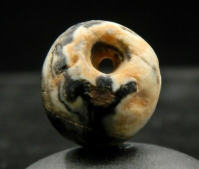 KYRA MINT - ANCIENT Agate Bead PENDANT - 17.8 mm long - Saharian NEOLITHIC