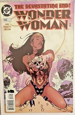 * WONDER WOMAN 146 (MN+ 9.6) ADAM HUGHES cover ORIGINAL OWNER Collection *