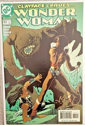 * WONDER WOMAN 161 (MN+ 9.6) ADAM HUGHES cover ORIGINAL OWNER Collection *