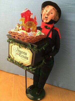Byers Choice THE CAROLERS Candy Man Sweets and Treats SIGNED