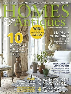 Homes & Antiques Magazine September 9/2017 From London to New York