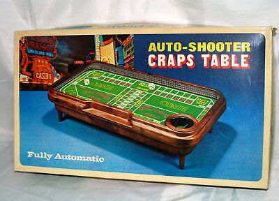 Automatic Dice Craps Table Game by Waco Japan New in Box
