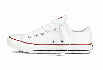 Converse All Star Ox Optical White Classic Low Top Sneaker Trainers M7652C