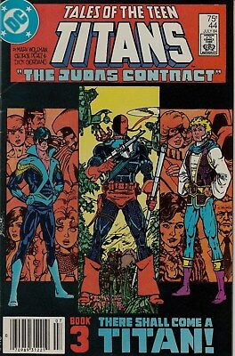 TALES OF THE TEEN TITANS #44 (Jul. 1984)V/FN cond.1st App.of NIGHTWING Key Issue