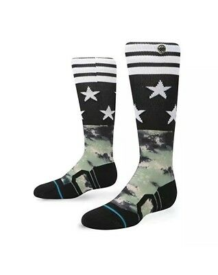 Stance Ankle Biters Bravo Kids Over-The-Calf Socks Youth Size S Small (7-10)