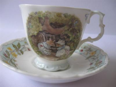 Royal Doulton Brambly Hedge Engagement Cup and Saucer