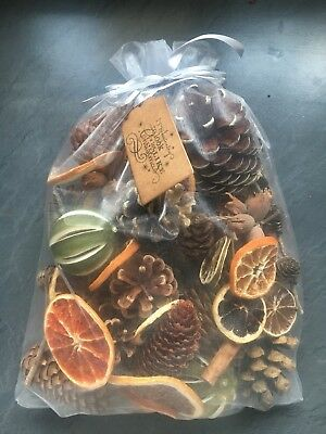 Luxury Christmas Pot Pourri Festively Foraged And Fragranced With Quality Oils
