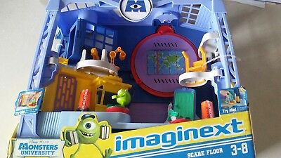 Fisher Price Imaginext Disney Pixar Monsters University Scare Factory