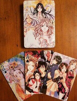 Ah! My Goddess Collectible Playing Cards Brand New