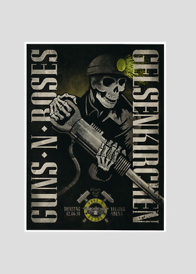 "GUNS N ROSES : GELSENKIRCHEN 2018 (Germany) ""Not in this lifetime tour"" !!"