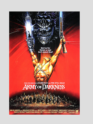ARMY OF DARKNESS !! CULT MOVIE ! Print 2