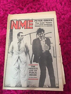 NME June 1979. PUBLIC IMAGE LIMITED Interview Peter green Interviews