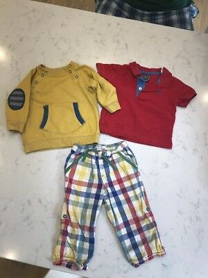 Designer Baby Boy Bundle Outfit  6-18 Months Boden Joules