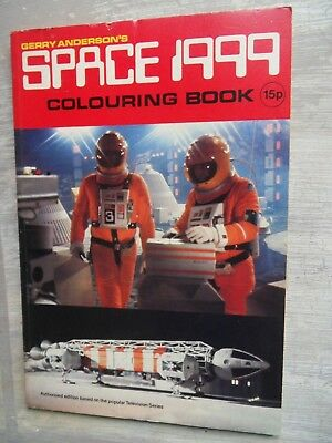 Gerry Anderson Space 1999 colouring book UNUSED