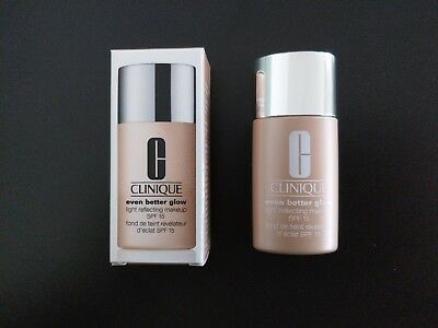 Clinique even better glow light reflecting makeup SPF 15 Maxiprobe 12 ml neu