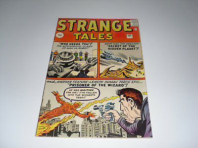 Strange Tales 102  : FN+ ( 1st Appearence of Wizard)