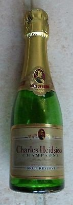 Bouteille Factice - Champagne 18,7 Cl - Charles Heidsieck - Brut Reserve - Reims