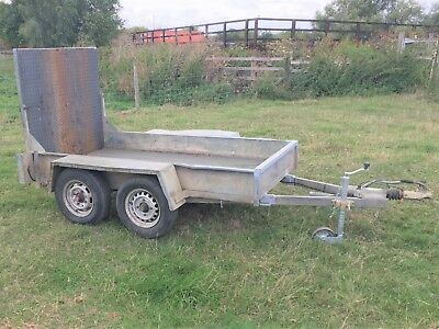 Plant Trailer Twin Axle Commercial Towing