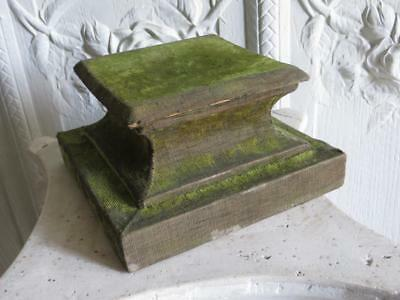 Antique French 19th Century Velvet Display Stand/Plinth/Socle.