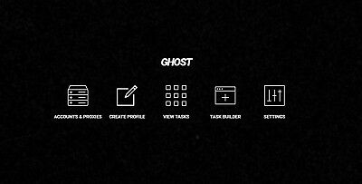 Ghost SNKRS V1.8.1 | FREE DASHE INCLUDED | SNKRS BOT | WORKING FAST NIKE BOT