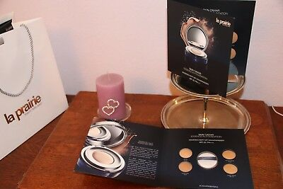 La Prairie*Luxus-Creme-Proben*Caviar*Make Up*Essence Foundation*2 Folder