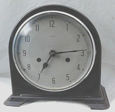 VINTAGE EARLY ENFIELD  MANTLE CLOCK  *PRE 1950* ( before. mass produced SMITHS )
