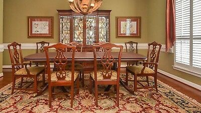 HICKORY WHITE DINING Room Table Set - $2,500.00 | PicClick