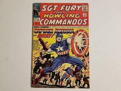 SGT.Fury And His Howling Commandos 13 Comic, Captain America