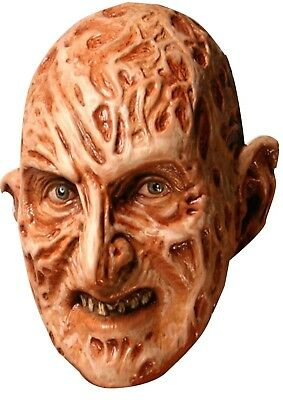 Freddy Krueger Halloween Face Mask - Scary Fancy Dress Mask