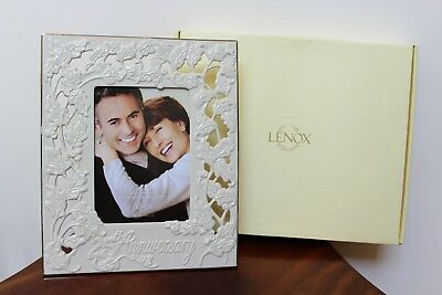 Lenox Portrait Gallery 25Th Anniversary 5 X 7 Picture Frame ~ New In Box
