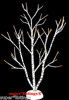 """Dept. 56 Winter Birch Tree 13"""" tall Retired 1996 for all Villages 52167 XB"""
