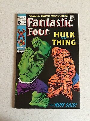 Marvel Comics Fantastic Four # 112 1971 (VF-)