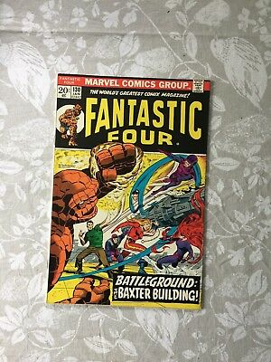 Marvel Comics Fantastic Four # 130 1973 (VF)