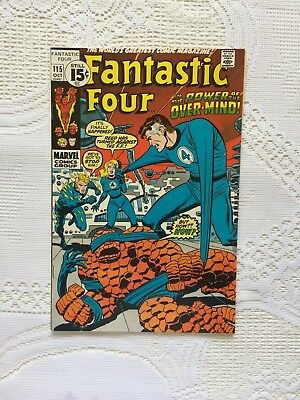 Marvel Comics Fantastic Four # 115 1971 (VF)