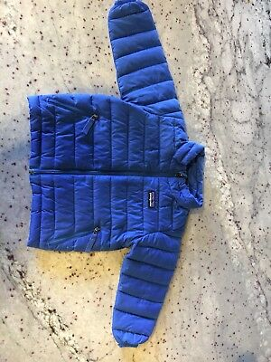 Patagonia Baby Down Sweater Jacket  Blue Sz 12 Months