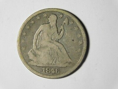 From A Recent Estate 1846-O Seated Liberty Half Dollar