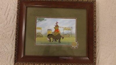 Walt Disney Serigraph Winnie The Pooh Blustery Day Limited Edtiion Animation