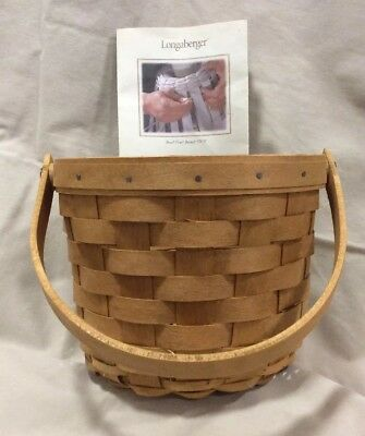 2004 Longaberger Small Fruit Basket