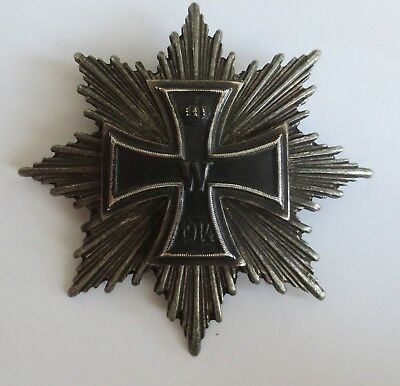 Prussian German WW2 Badge Iron Cross Imperial 1914