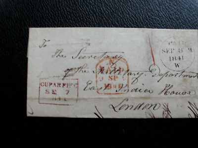 G.b.1841 Entire Cupar Fife To London